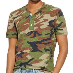 Denim & Supply Ralph Lauren Camo Henley Shirt